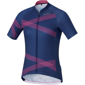 Shimano Team Jersey Women Navy/Pink